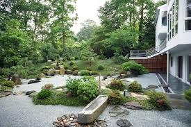 home interior garden decoration modern japanese garden