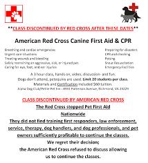 red cross pet first aid alpha dog club