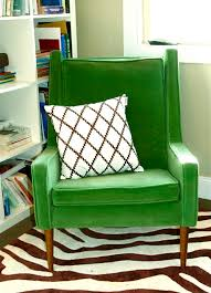 Modern Reading Chair Mid Century Modern Green Velvet Chair I Will Take This For My