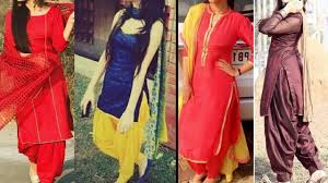 daily wear punjabi suit designs patiala kurta designs for college