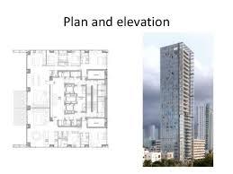 Residential Plan High Rise Residential Building