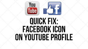 Facebook Icon by Quick Fix Facebook Icon Not Showing On Youtube Header Youtube