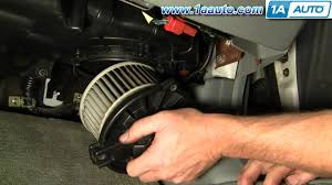 how to install replace heater ac blower motor honda accord civic