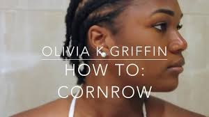what is corn rowing in hair how to cornrowing your own hair liv knightly youtube