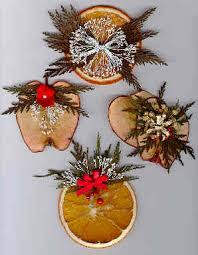 dried fruit ornaments wreaths and swags
