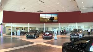 automotive toyota toyota showroom digital signage video wall youtube