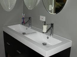 install trough sink bathroom http mybathroomideas net install