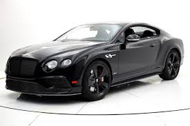 bentley supersport black 2017 bentley continental gt speed black edition