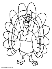 free printable turkey coloring pages thanksgiving coloring pages for kids