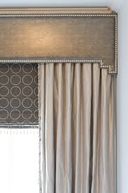 Custom Design Draperies Love This Nailhead Trimmed Cornice With Gorgeous Draperies And