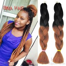 best braiding hair for senegalese twist ombre synthetic braiding hair 24inch blonde extensions xpression