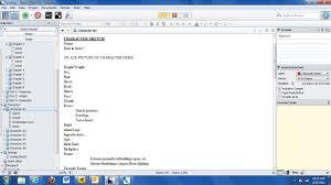 using scrivener to write a novel sara toole miller fiction