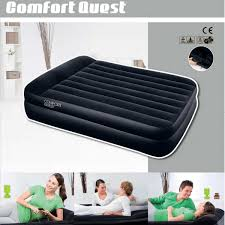 Sofa Bed With Inflatable Mattress by Bestway Luxury Air Bed Queen Size Inflatable Ma Outbaxcamping