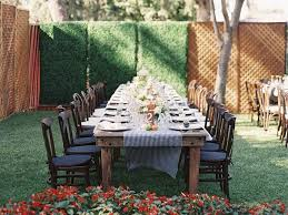 Pictures Of Backyard Wedding Receptions Wedding Receptions At Home Wedding Secrets