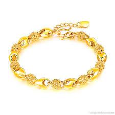 bracelet gold women images New women bracelet gold color charms bracelet for bride wedding jpg
