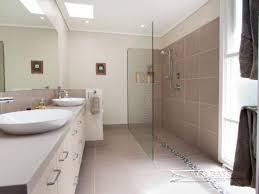 Open Shower Bathroom Bathroom Ideas Open Showers Small Basin And Tile Ideas