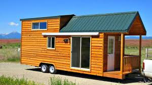 tiny house on wheels stand up loft easy slope stairs accessible to