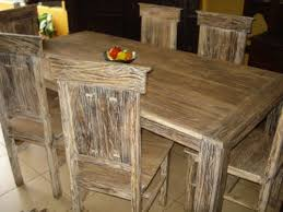Distressed Wood Dining Room Table by Unfinished Dining Room Table Fine Wood Furniture Finished