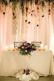sweetheart table decor decoration blast sweetheart indoor wedding reception tables