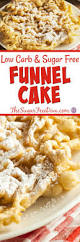 now you can enjoy this recipe for sugar free baked funnel cakes