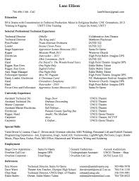 theater resume template musical theater resume template musical theatre resume best