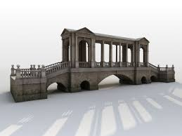 neoclassical park bridge