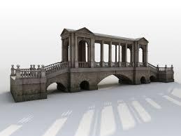 neoclassical park bridge