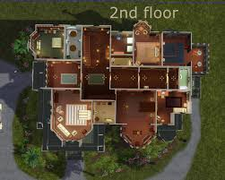 house plan carson mansion floor marvelous mod the sims mts