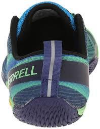 vibram merrell men u0027s vapor glove 2 trail running shoes multicolour