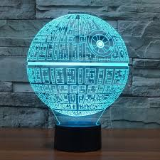 Pottery Barn Death Star 3d Novelty Star Wars Death Star Led Lamp Price 24 95 U0026 Free