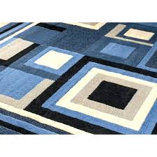 Blue Brown Area Rugs Blue And Brown Rugs New Modern Blue Gray Brown Rug Area Rug Casual