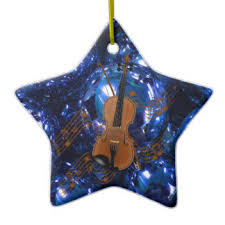 violin christmas tree decorations u0026 ornaments zazzle co uk