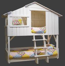 Cargo Bunk Bed Furniture Treehouse Loft Bed With Desk Furniture