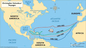 Map Of The Oceans He Sailed The Ocean Blue Lessons Tes Teach