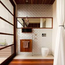 Paneling For Bathroom by Exposed Walls In The Bathroom Are In Fashion Hansgrohe Us