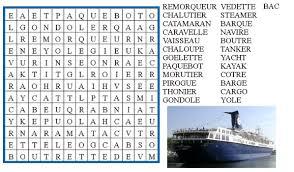 jeu de mots cuisine jeu mots mêlés bateaux le de ludovica