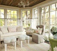 shabby chic country family room shabby chic style with glass table