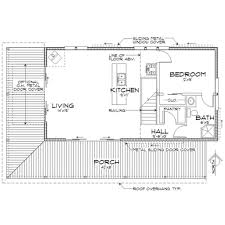 Corner Lot Floor Plans Cabin Style House Plan 2 Beds 2 00 Baths 1015 Sq Ft Plan 452 3