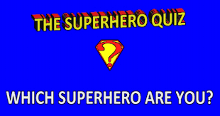 which superhero are you quiz