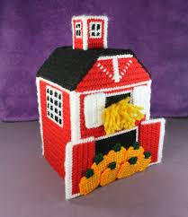 red barn home decor red barn tissue topper box cover home decor harvest farm hay