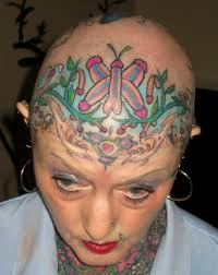 world u0027s most tattooed woman damn cool pictures