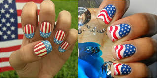 4th of july nail art designs supplies u0026 galleries for beginners