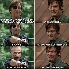 Walking Dead Meme Daryl - funny twd memes google search twd is amazing pinterest twd
