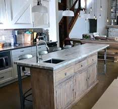 rustic kitchen islands with seating rustic kitchen island bloomingcactus me