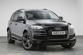 Audi Q7 Black Edition - used audi q7 s line plus black cars for sale motors co uk