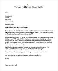 sample cover letter for project proposal 87 enchanting examples