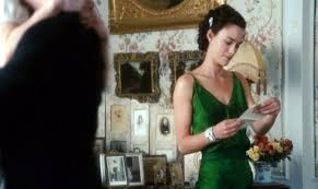 atonement keira knightley u0027s green dress clothes on film