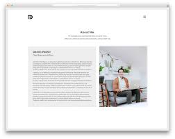 Free Resume Builder Online by 30 Best Vcard Wordpress Themes 2017 For Your Online Resume Colorlib