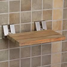 bathroom teak shower stool with shelf teak corner shower bench