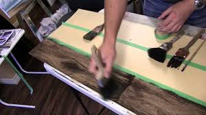 Laminate Wood Look Flooring How To Paint A Faux Wood Floor Tutorial Youtube